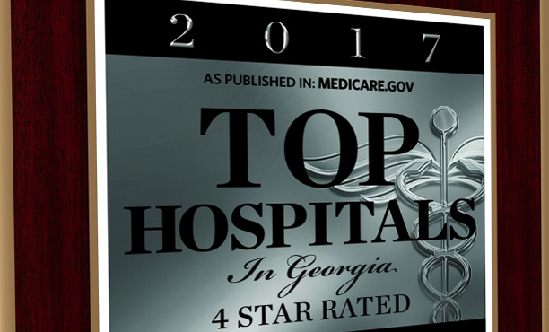 Medicare.gov Top Hospital Plaque
