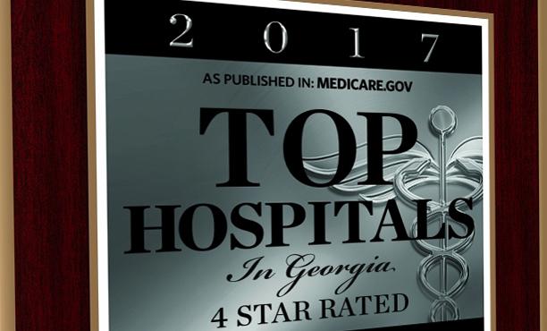 Medicare.gov Top Hospital Plaque