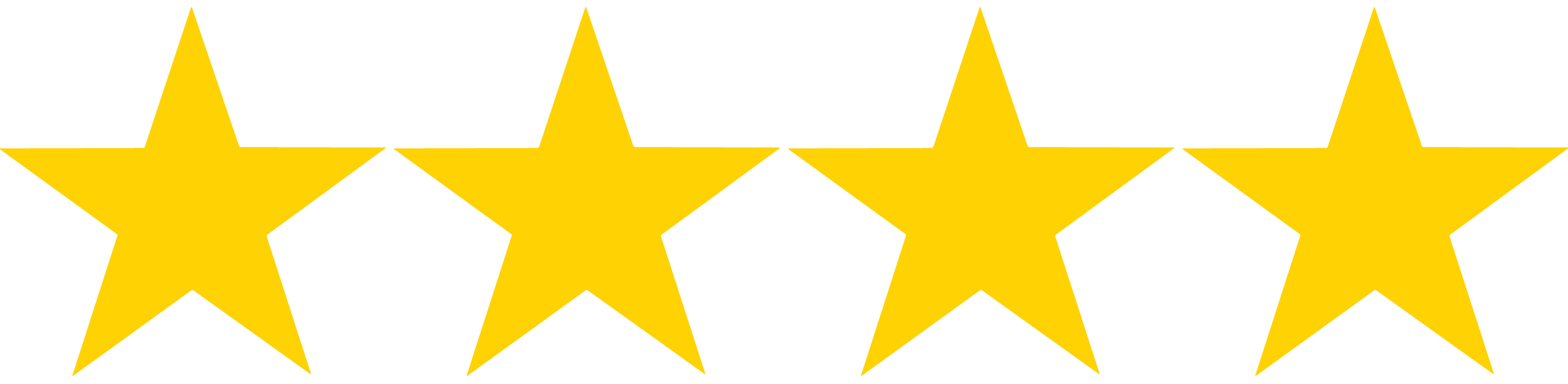 Four Gold Stars
