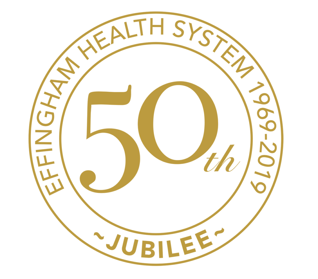 Effingham Health System 50th Anniversary Seal